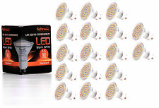 17X GU10 LED Lampe von Seitronic mit 3,5 Watt, 300LM und 60 LEDs Warm weiß 2900K