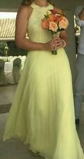 BNWT��Coast��Size 6 Sadie Yellow Lemon Maxi Bridesmaid Prom Beach Wedding Dress