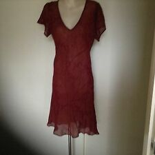 OJAY LADIES RED DRESS, SIZE 14