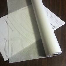 "MEDICAL PATTERN PAPER Tracing Paper for Patternmaking 21"" x 225' Sewing Patterns"