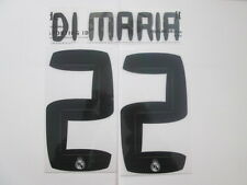 Di Maria no 22 Real Madrid Home Football Shirt Name Set Kids Youth
