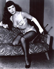 Bettie Betty Page Leggy 8x10 photo T2506