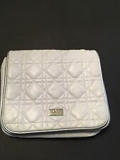 Christian Dior Beauty, Cosmetic Bag, White with Silver Trim