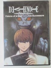 "Death Note ReLight Visions of a God + L's Successors"" DVD  ** Both Movies **"