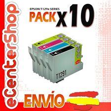 10 Cartuchos T1291 T1292 T1293 T1294 NON-OEM Epson Stylus SX620FW