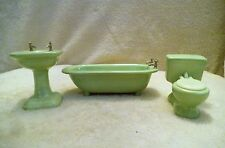 doll house vintage ceramic bath room items