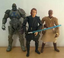 Guerra De Las Galaxias Anikan Skywalker, Durge & 2x Mace Windu Figura De Acción
