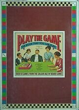BOARD GAMES FROM PAST 300 YEARS, BIG 1978 BOOK (OVER 40 GAMES FROM GOLDEN AGE