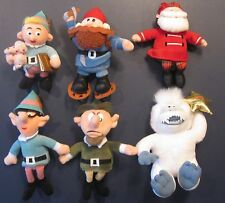 "CVS Plush Ornaments - Rudolph the Red-Nosed Reindeer ""Beanies"" Collection"