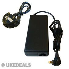 Acer Aspire 5738z Laptop Battery Charger Power Supply 19V 90W + LEAD POWER CORD