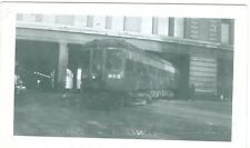 Vintage Milwaukee electric Lines car #1140-leaving P.S. building 1948