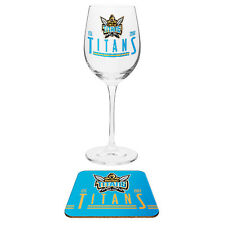 ELVIS Presley Wine Champagne Drink Glass & Cork Coaster Mothers Day Gift