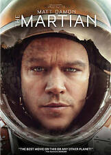 THE MARTIAN 2016 Sci-fi dvd MATT DAMON Kristen Wiig JESSICA CHASTAIN Ln