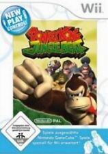 Nintendo Wii Donkey Kong Jungle Beat tedesco come nuovo