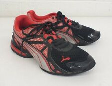 Puma Locell 1.0 Black & Red Running Shoes US Men's 5.5 EU 37.5 Fast Shipping