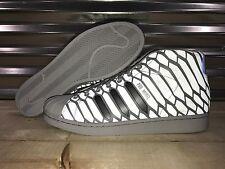 Adidas Originals Pro Model 'Xeno' Shoes Onix Gray Reflective 3M SZ 12 ( Q16535 )