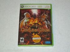 Kingdom Under Fire: Circle of Doom XBOX 360 Unopened Sealed FREE SHIPPING