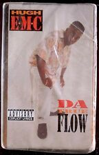 Hugh E.M.C.-Da True Flow CASSETTE RAP IN-A-MINUTE 1993 SEALED OOP