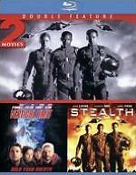 Stealth And Vertical Limit - BLU-RAY Region A - Sealed