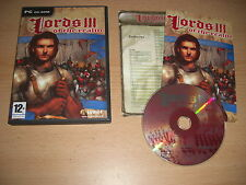 LORDS OF THE REALM III 3  Pc Cd Rom Original Version - FAST DISPATCH
