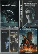 Terminator DVD 1 2 3 4 5 Lot Complete Collection 5 movie set Genisys Brand NEW