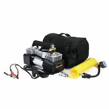Durite 0-674-00 Heavy Duty 12v Portable Twin Piston Air Compressor Tyre Inflator