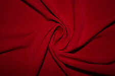 Tabasco Red Solid ITY Polyester Lycra Spandex Stretch Apparel Fabric BTY