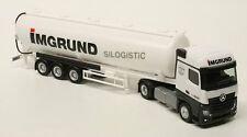 "918299 Herpa extra mercedes-benz actros bigspace Silo-remolcarse ""imgrund"" h0"