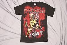 Iron Maiden killers large print S T-Shirt tour concert tee metal bruce dickinson