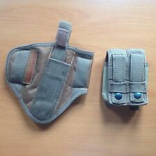 BLACK OPS CORPORATION, AFGHANISTAN: Holster & Mag. Pouch for Browning 9mm Pistol