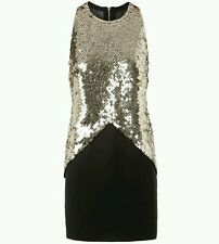 """SASS & BIDE """"SEE THE STORY"""" Embellished Dress Size 38 (8-10)"""