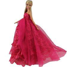 Abendkleid Prinzessin Kleidung Dress Kleider für Barbie Puppe