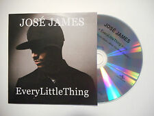 JOSE JAMES : EVERY LITTLE THING ♦ CD SINGLE PORT GRATUIT ♦