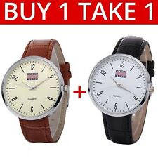 Newyork Army Men's Leather Strap Watch Buy 1 Take 1 COD Paypal