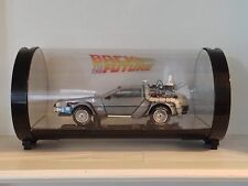 1:18 Hot Wheels Super Elite Back To The Future Delorean Time Machine Mr. Fusion