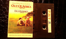 JOHN BARRY' CASSETTE TAPE SOUNDTRACK OUT OF AFRICA ASIAN ISSUE