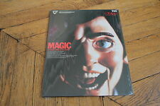 Magic 1978 VHD Disc (no laserdisc) NTSC Anthony Hopkins, William Goldman, As New