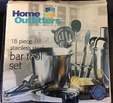 Déco Découverte Home Outfitters 18 Piece Stainless Steel Bar Tool Set
