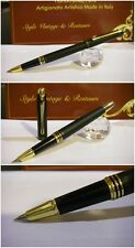 Stilografica HERO matte Black Flute fountain pen - stylo Nib F