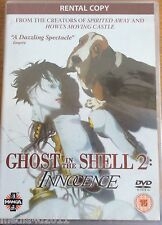 GHOST IN THE SHELL  2 INNOCENCE RARE RENTAL DVD NEW SEALED