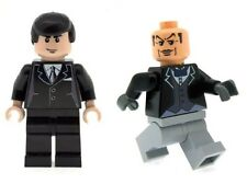 Custom Minifigure Bruce Wayne & Alfred The Butler (Batman) Printed on LEGO Parts