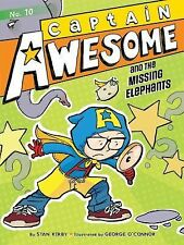 Captain Awesome and the Missing Elephants-ExLibrary