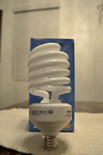 6- NEW 42 Watt Compact Fluorescent CFL Spiral Light Bulb 2700K Warm White= 150/W