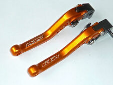 KTM 690 DUKE 990 SUPERDUKE  BRAKE & CLUTCH ORANGE SHORT LEVERS RACE TRACK R10D5