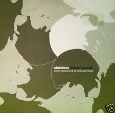 "STATELESS Leave Me Now Swell Session & Brooks Remixes UK vinyl 12"" UNPLAYED"