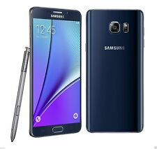 "Samsung Galaxy Note 5 black SM-N9200 FACTORY UNLOCKED) 5.7"" QHD , 32GB, 4GB RAM"