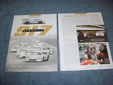 "1974 Porsche 917/30 Race Car History Info Article ""917 Stand-In"" Prototype"