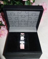 RSW Rama Swiss Watch Women's Classic light pink Leather Watch NEW