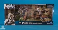 Star Wars Speeder Bike Scout Trooper 2012 Movie heroes Toysrus exclusive !
