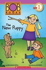 Scholastic Reader Level 1: BOB Books: The New Puppy-ExLibrary